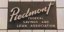 Piedmont Federal Signage